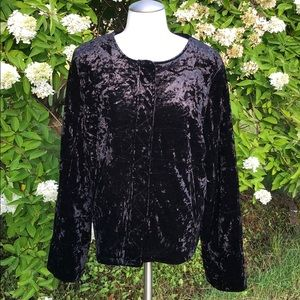 Sanctuary crushed velvet jacket XL